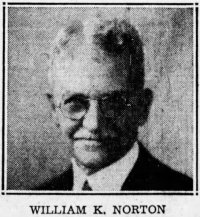 Norton, William K. -1935