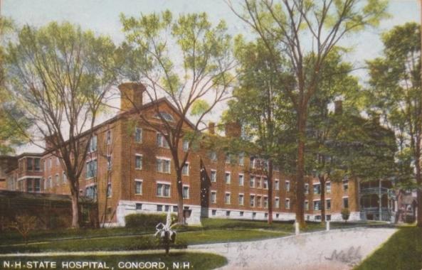 NH State Hospital - 1907