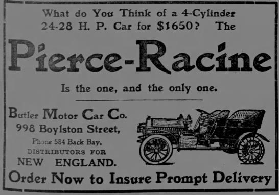 Pierce-Racine 1906