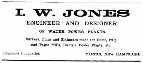 Jones, IW - 1912