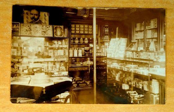 Milton Store Interior - 1915