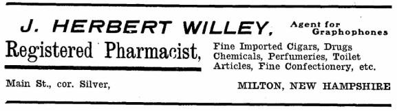 Willey, J. Herbert - 1912