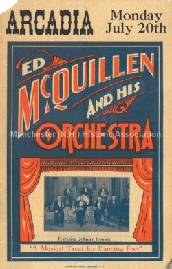 McQuillan, Ed, and His Orchestra - Manchester Historic Association