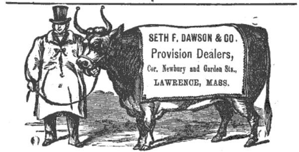 Dawson, Seth F & Co - Lawrence, 1873