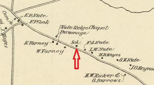 Nute Ridge School - 1892