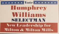 Williams, Humphrey - 2020