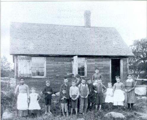 Nute Ridge School - 1880s