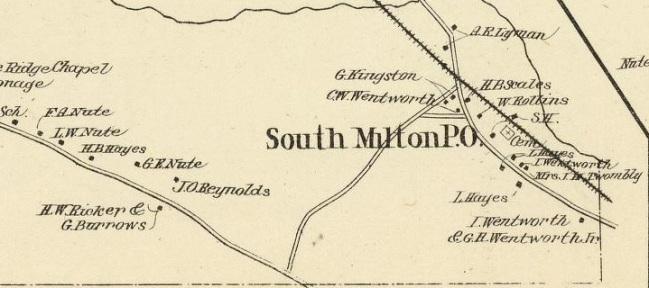 So Milton - 1892