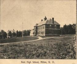 Nute High School - BW