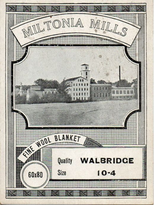 Miltonina Mills Adv Card-Walbridge