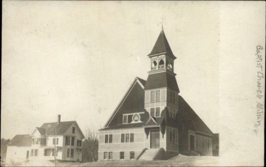 Baptist Church, Milton, c1910
