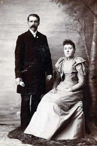 Grey, Rev George H and Eva A