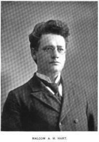 Hart, Malcolm A.H. - 1897
