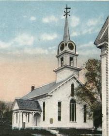 Milton Two Churches - Detail