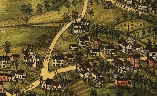 Milton's Two Churches - 1888