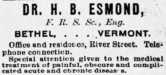 Esmond, HB - BC071219