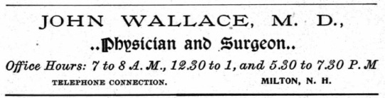 Wallace, John - 1900