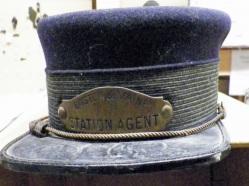 B&M Station Agent Cap