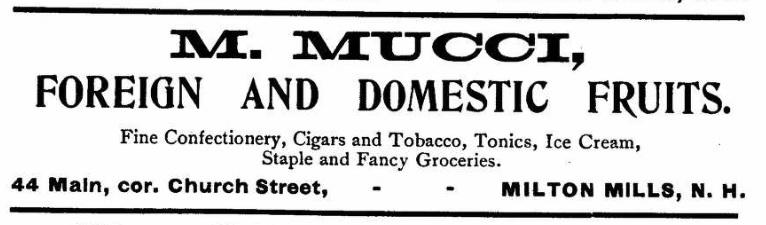 Mucci, N - 1902