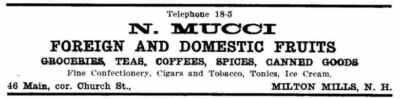 Mucci, N - 1917