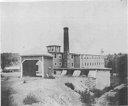 Spaulding Mill in Milton (Previously Tuttle Shingle Mill)