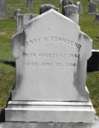 Townsend, HH - Grave