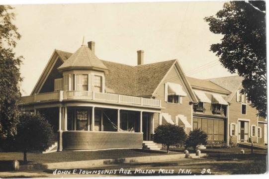 Townsend House - Per JW Cunningham
