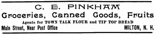 Pinkham, CE - 1909