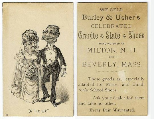 Burley-Usher - 1880s - A Tie Up