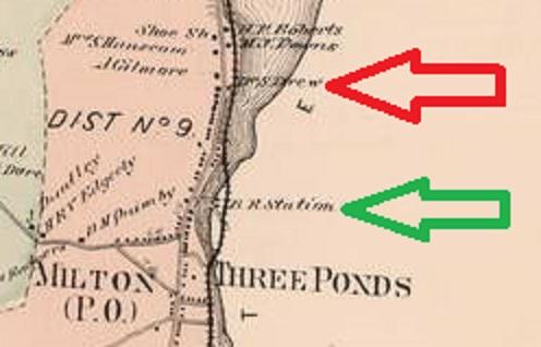 Milton - 1871 (Dist. 9 Detail)
