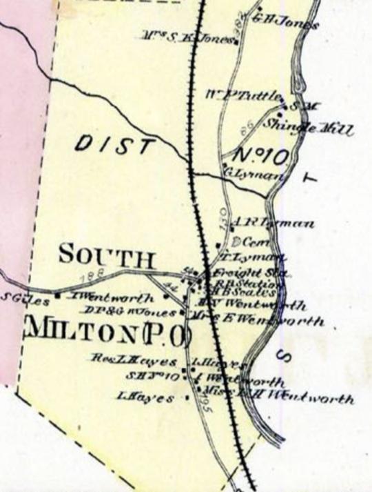 Milton - South Milton (Detail)