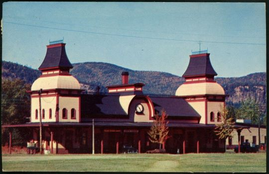 North Conway Station - 1958