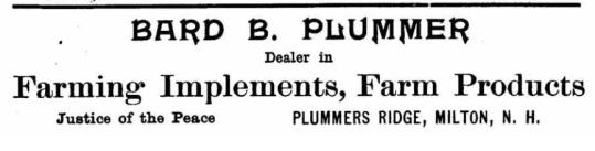 Plummer, Bard B - 1909