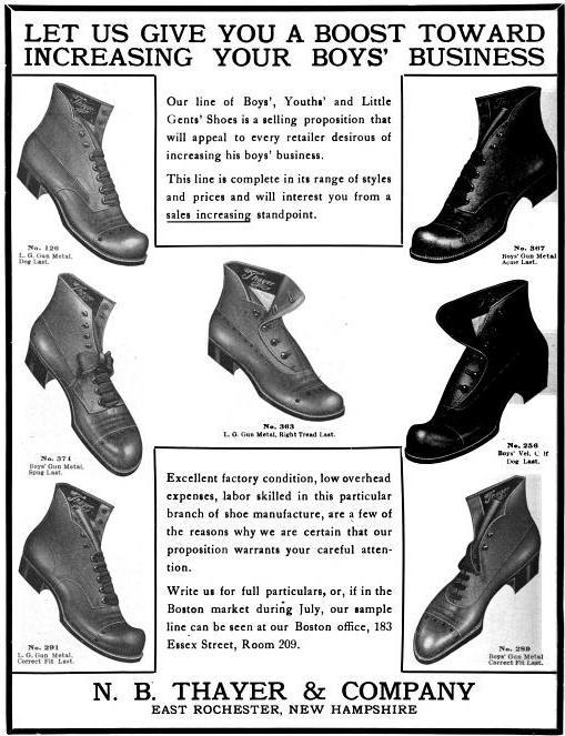 Thayer, NB - 1913