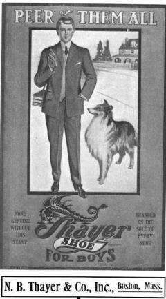 Thayer, NB - Adv Card - 1907b